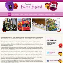 Caerphilly Flower Festival