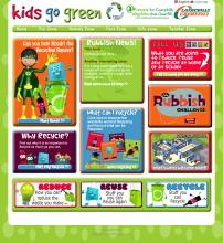 Kids go green